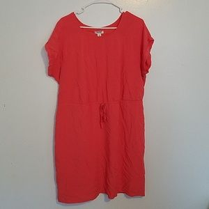 Old Navy | Coral Short Sleeve Dress